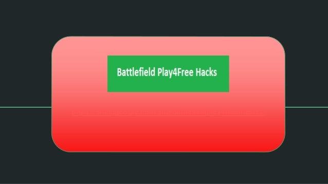 battlefield play4free 2017