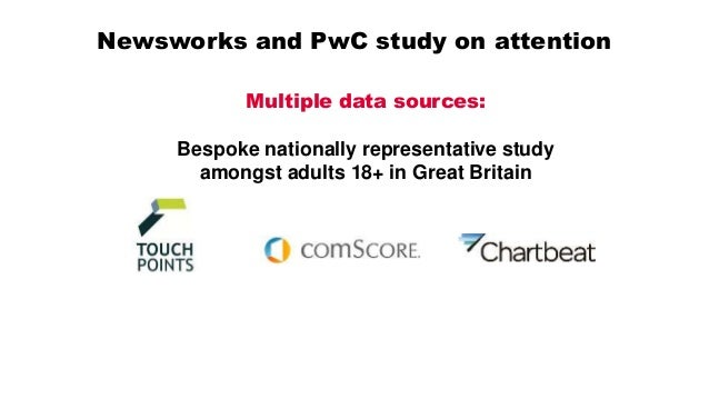 Newsworks and PwC study on attention Data integration and analysis