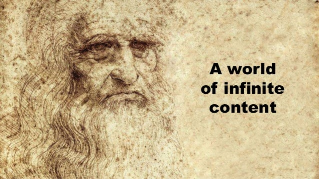 A world of infinite content