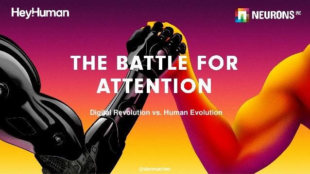 @danmachen Digital Revolution vs. Human Evolution