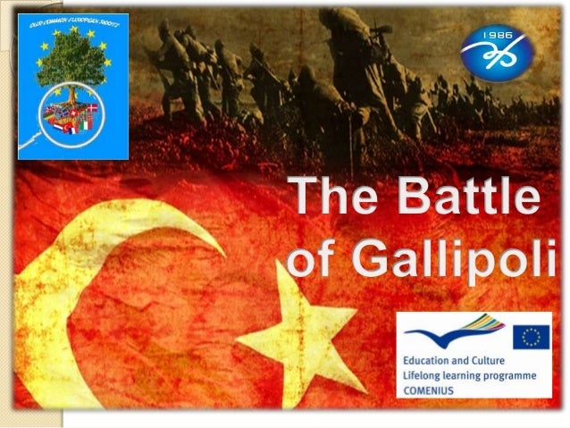 The Battle of Gallipoli(1915-1916) is a sea and land war that is during World War I, between the Ottoman Empire and the Al...