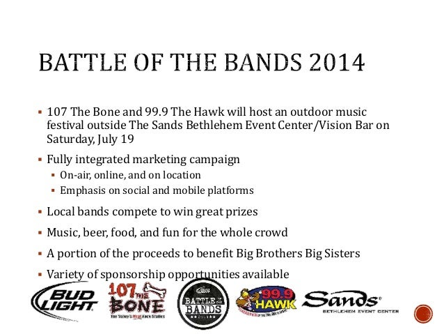 Battle Of The Bands Promotional Proposal