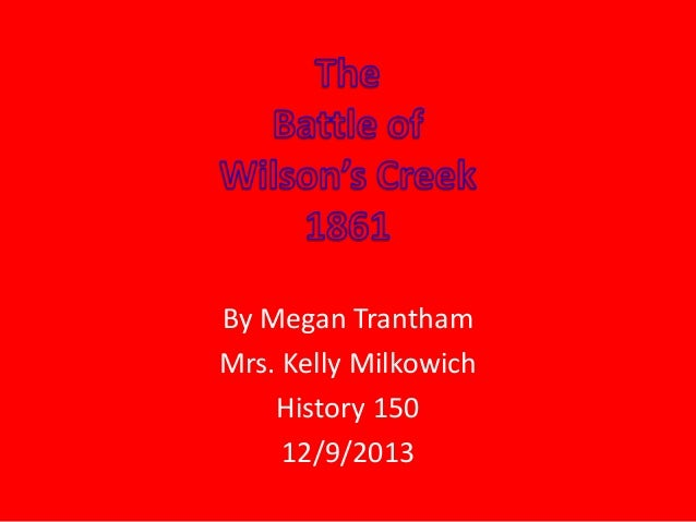 By Megan Trantham Mrs. Kelly Milkowich History 150 12/9/2013