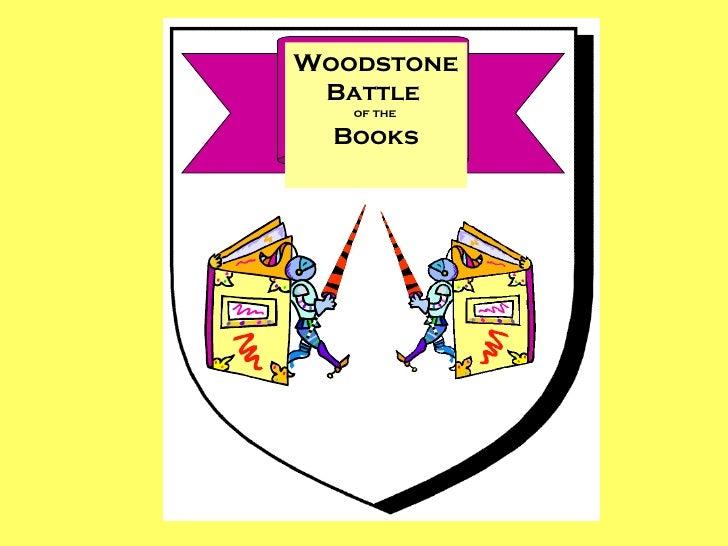 Woodstone Battle   of the  Books