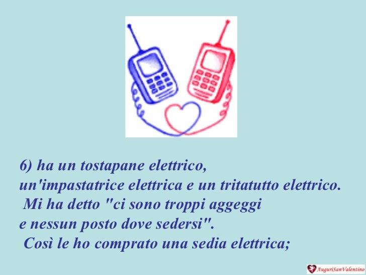 """6) ha un tostapane elettrico,  un'impastatrice elettrica e un tritatutto elettrico. Mi ha detto """"ci sono troppi aggeg..."""