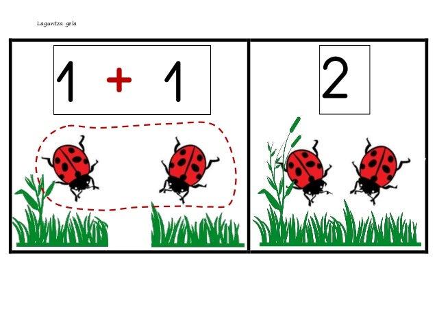 Batuketak 5 arte  marigorringo liburu mugikorra Slide 2