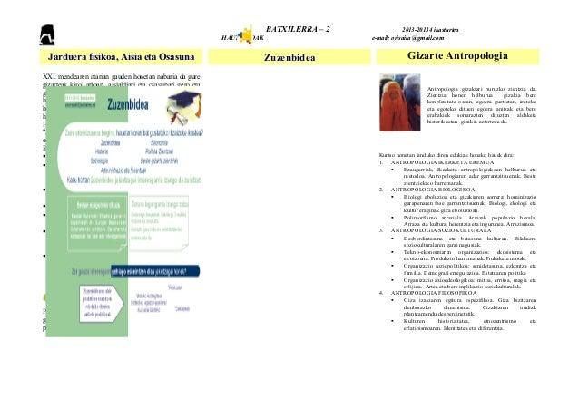 BATXILERRA – 2 2013-20134 ikasturteaHAUTAZKOAK e-mail: orisaila @gmail.comJarduera fisikoa, Aisia eta Osasuna Zuzenbidea G...