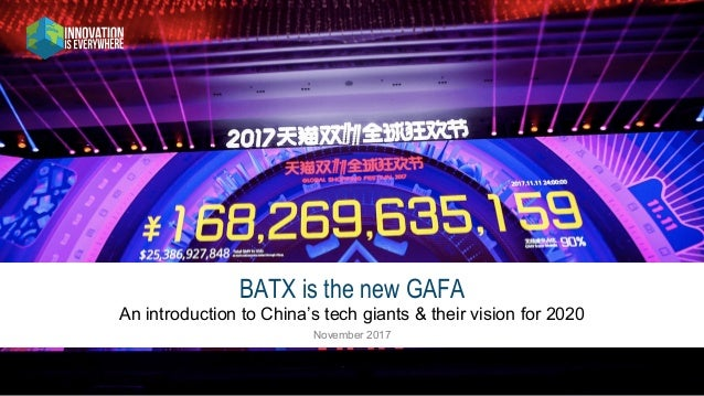 How The Batx Baidu Alibaba Tencent Xiaomi Are Eating The World