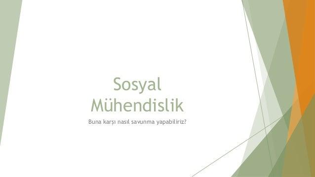 Sosyal Mühendislik - BAU Cyber Talks 02/05/2018