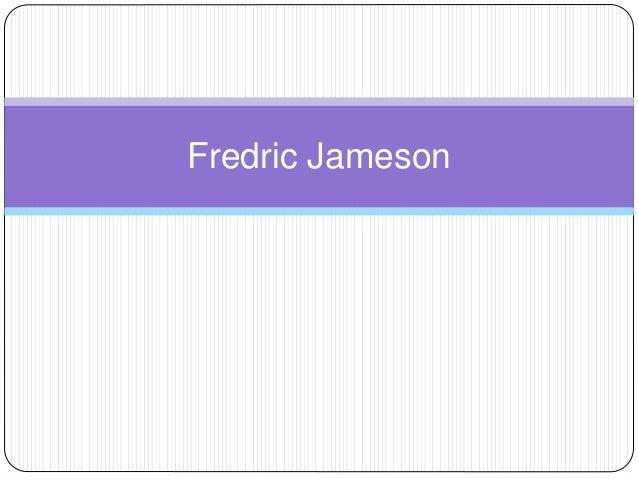 fredric jameson essay on postmodernism Jameson, fredric postmodernism, or, the cultural logic of late capitalism 1 culture postmodernism 1 title 306 isbn 0-86091-314-7 isbn 0-86091-537-9.