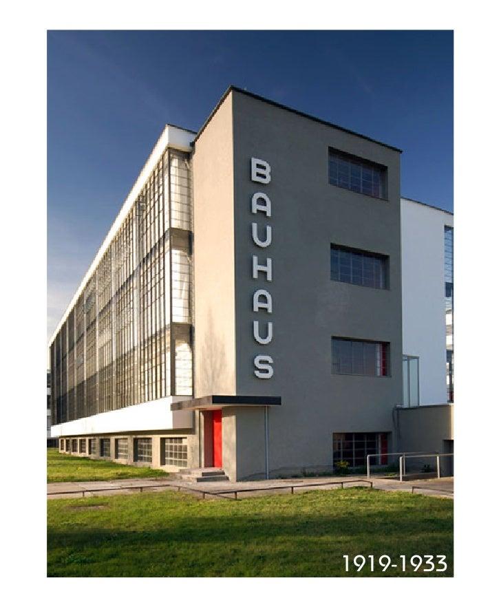 Bauhaus: Vanguardias del Diseño