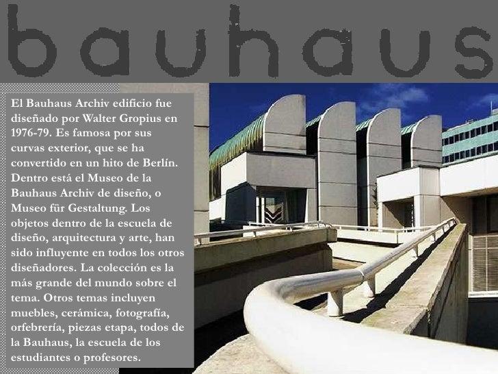 Bauhaus 1214598594414961 8 for Bauhaus berlin edificio