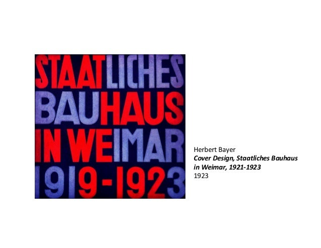 Bauhaus for Staatliches bauhaus