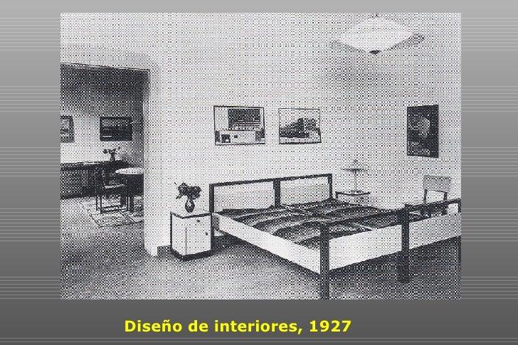 Bauhaus dise o ii for Curso de diseno de interiores en linea