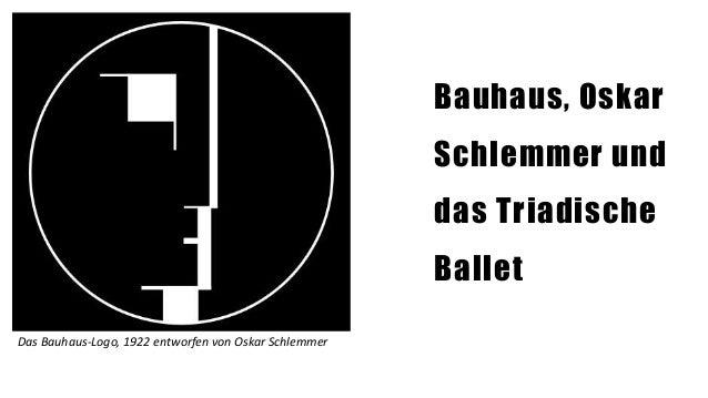 bauhaus oskar schlemmer und das triadische ballet
