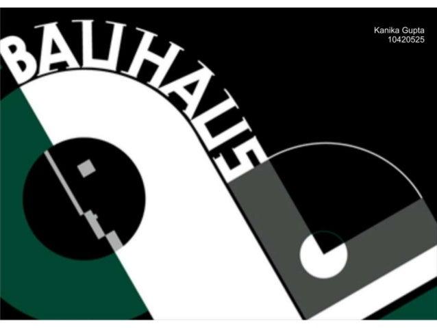 Bauhaus school of design