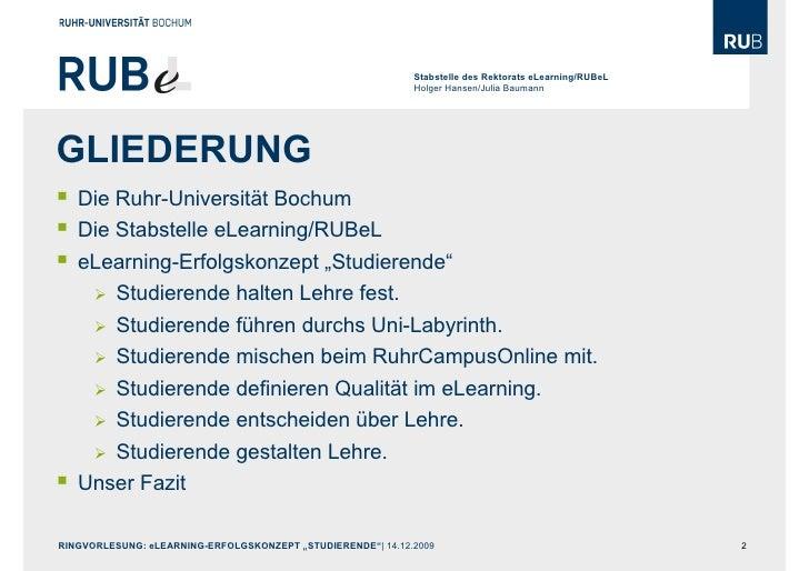 """E-Learning-Erfolgskonzept """"Studierende"""". Slide 2"""