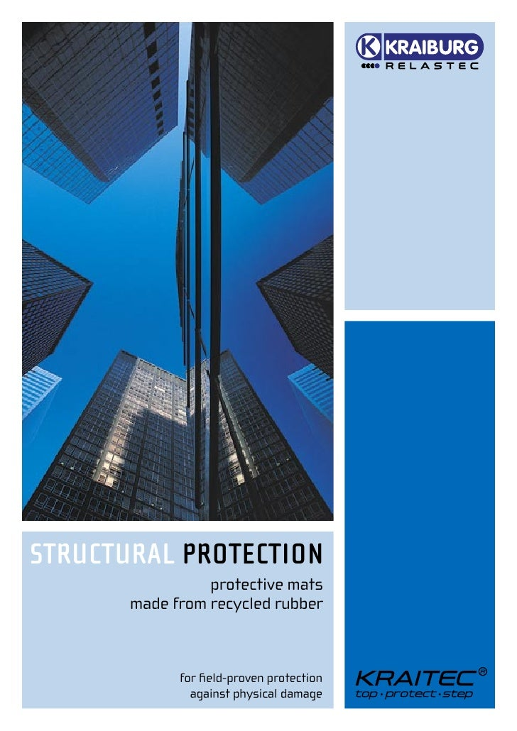 STRUCTURAL PROTECTION                 protective mats       made from recycled rubber             for field-proven protecti...