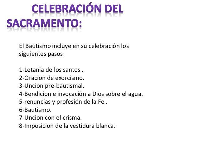 Matrimonio Catolico Pasos : Bautismo uno de los sacramento