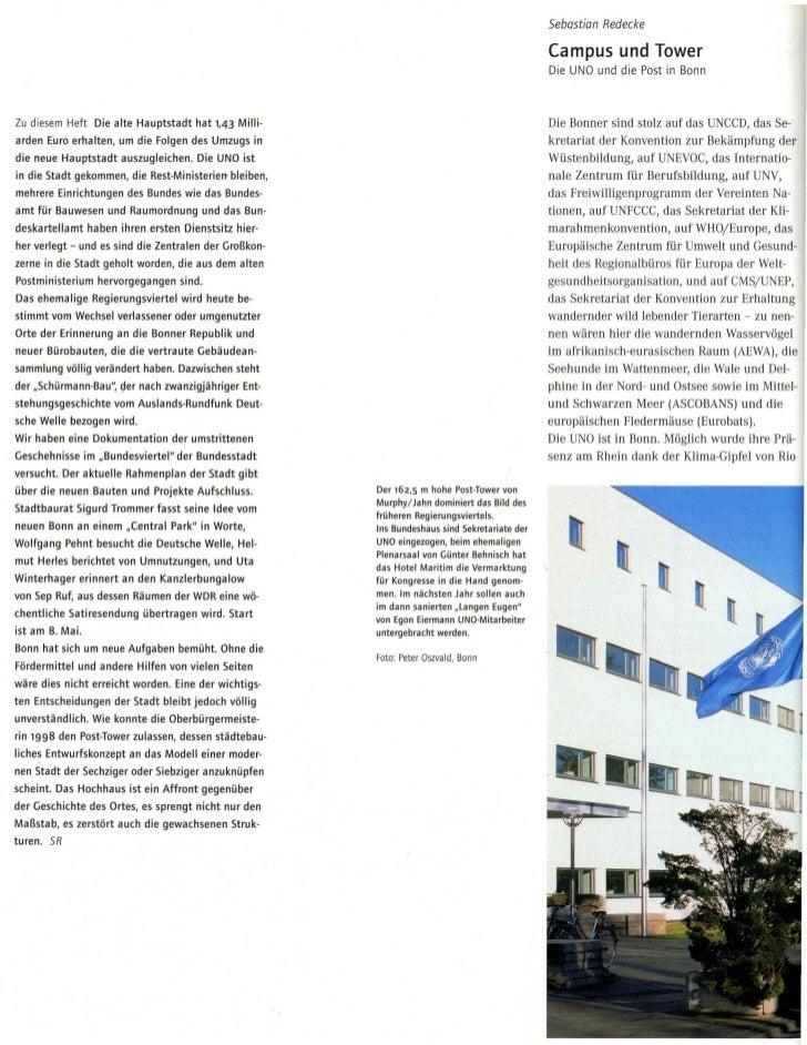 Sebastian Redecke                                                                                                  Campus ...