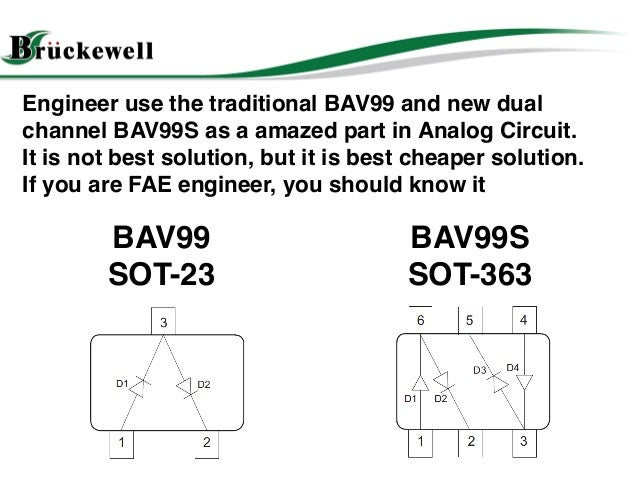 bav99 switching diode applciation