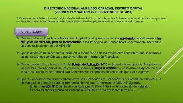 DIRECTORIO NACIONAL AMPLIADO CARACAS, DISTRITO CAPITAL (VIERNES 21 Y SÁBADO 22 DE NOVIEMBRE DE 2014) El Directorio de la F...