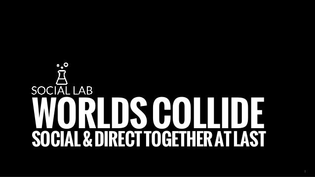 WORLDS COLLIDE SOCIAL & DIRECT TOGETHER AT LAST  1