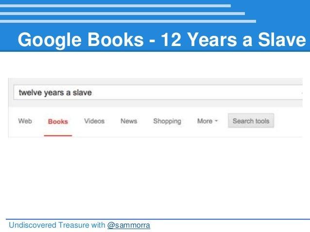 Undiscovered Treasure: Free Public Domain Books Online NJECC