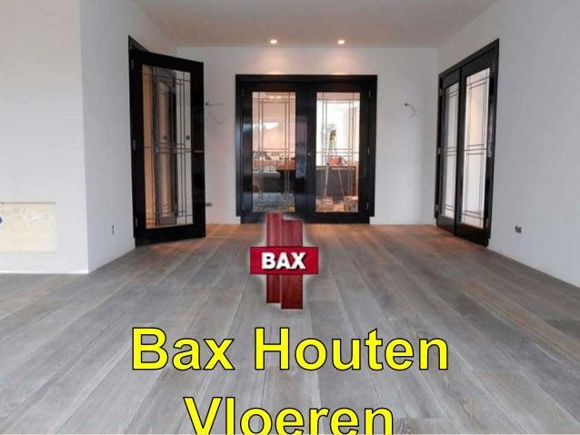 Bax houten vloeren