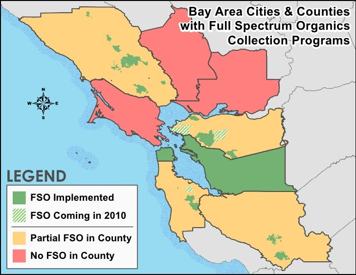 Bay Area Cities & Counties                           with Full Spectrum Organics                                   Collect...