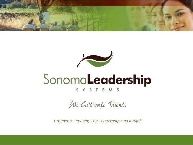 Preferred Provider, The Leadership Challenge®