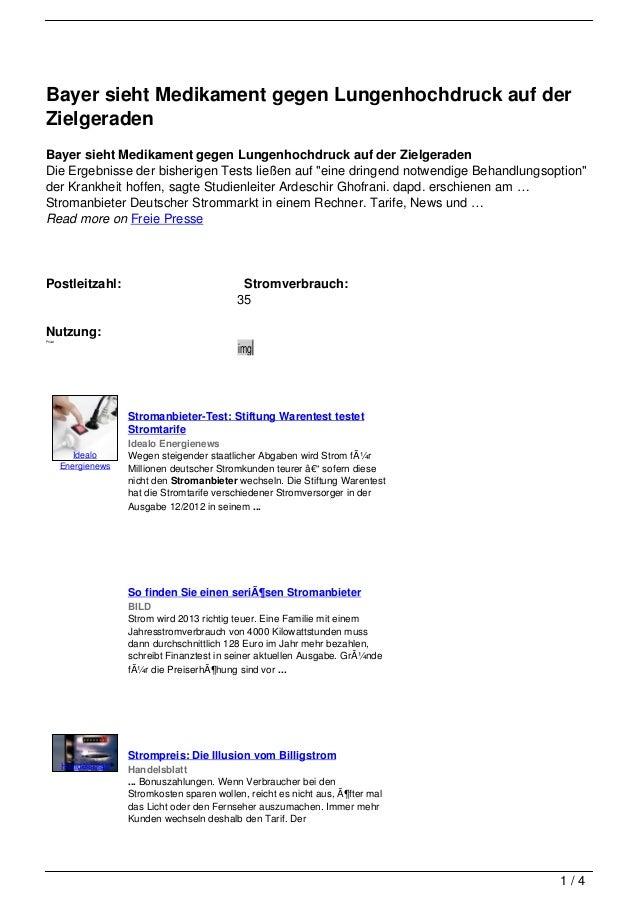 Bayer sieht Medikament gegen Lungenhochdruck auf derZielgeradenBayer sieht Medikament gegen Lungenhochdruck auf der Zielge...