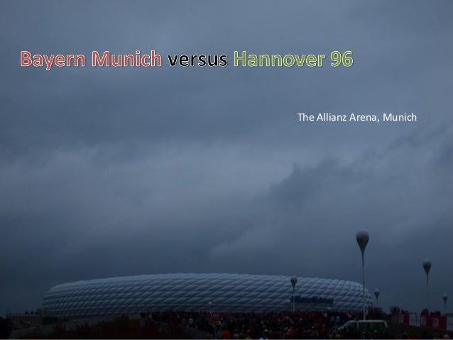 The Allianz Arena, Munich
