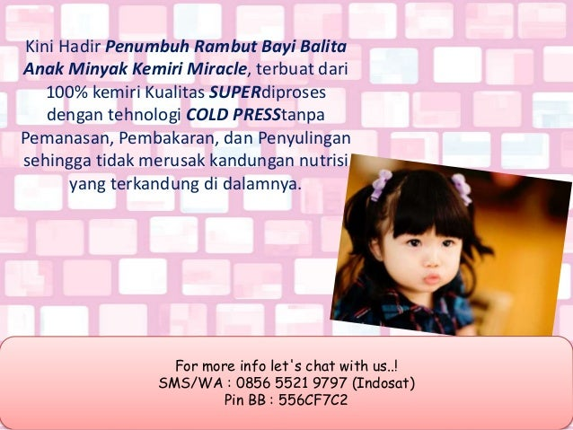 penumbuh rambut, 0856 5521 9797 (Indosat) Slide 2