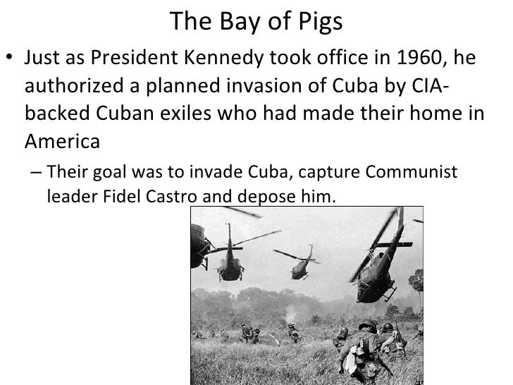 the causes of the failure of the invasion of cuba at the bay of pigs