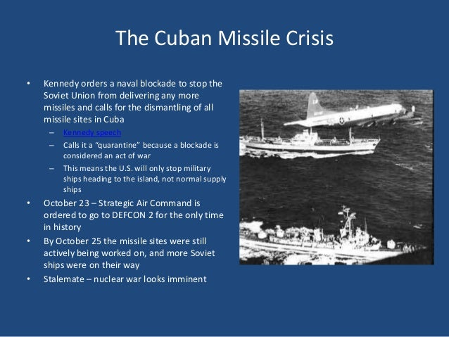 Cuban Missile Crisis - PowerPoint PPT Presentation