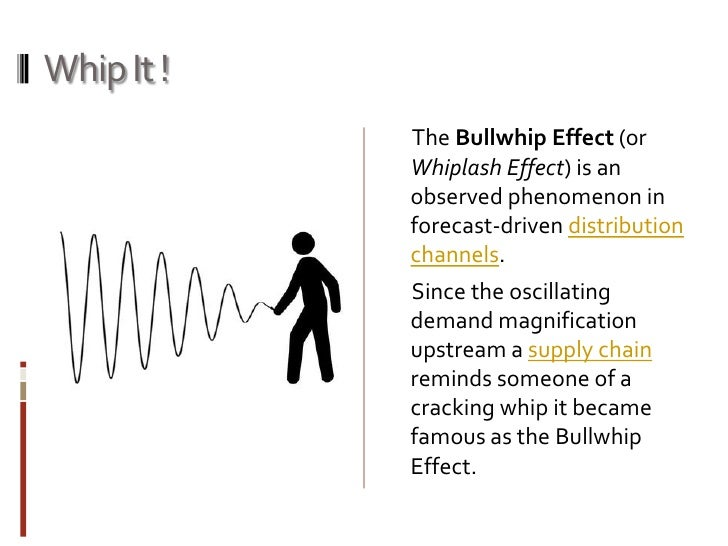 the bullwhip effect in barillas case The bullwhip effect is a phenomenon that occurs in supply chain management when consumers overbuy, regardless of their needs, according to business dictionarycom these large, unplanned purchases.