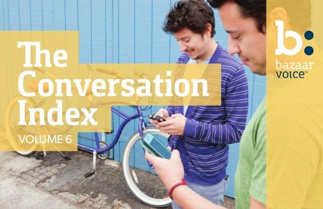 The Conversation IndexVOLUME 6