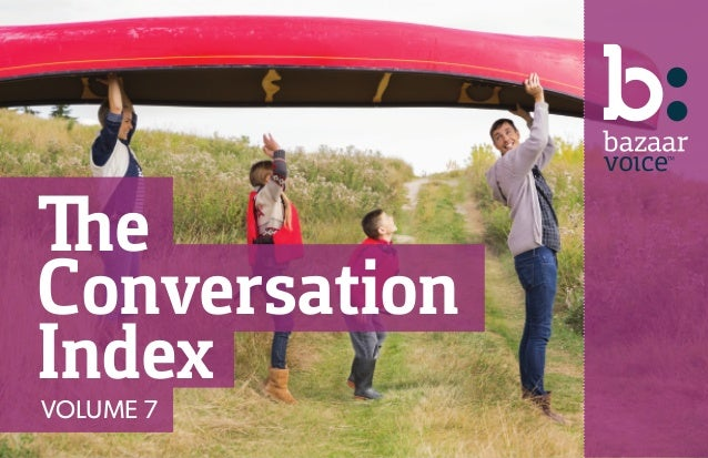 The Conversation IndexVOLUME 7