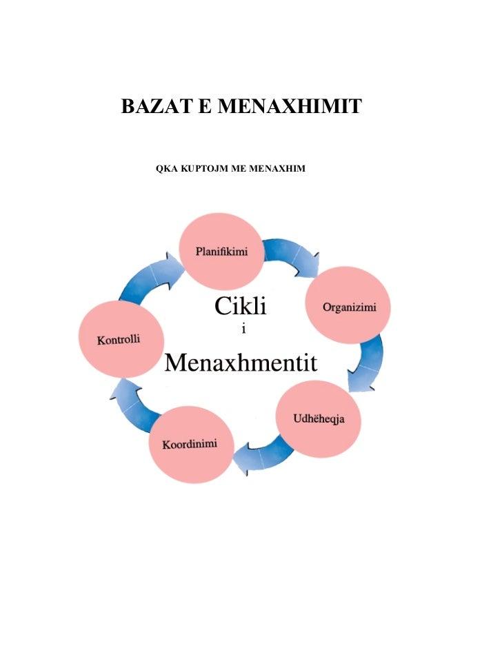 BAZAT E MENAXHIMIT    QKA KUPTOJM ME MENAXHIM