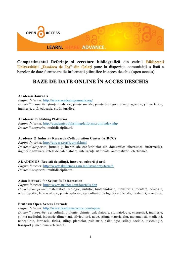 """Compartimentul Referinţe şi cercetare bibliografică din cadrul BiblioteciiUniversităţii """"Dunărea de Jos"""" din Galaţi pune l..."""