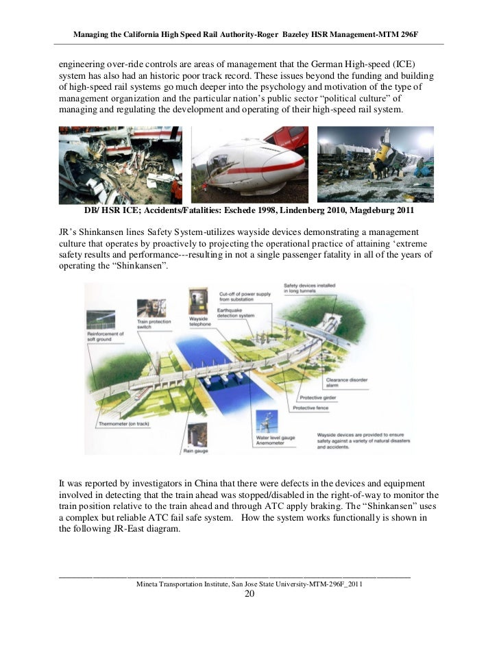 The High Speed Rail 2018 Business Plan – A Classic Model Of Deception