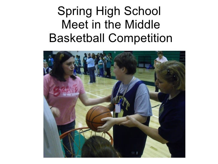 Spring High School  Meet in the Middle Basketball Competition