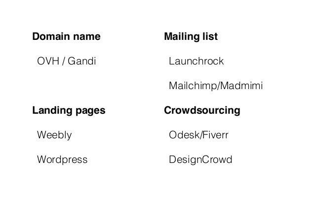 Solvay Entrepreneurs Brainstorm & Boost - Le web comme outil de test