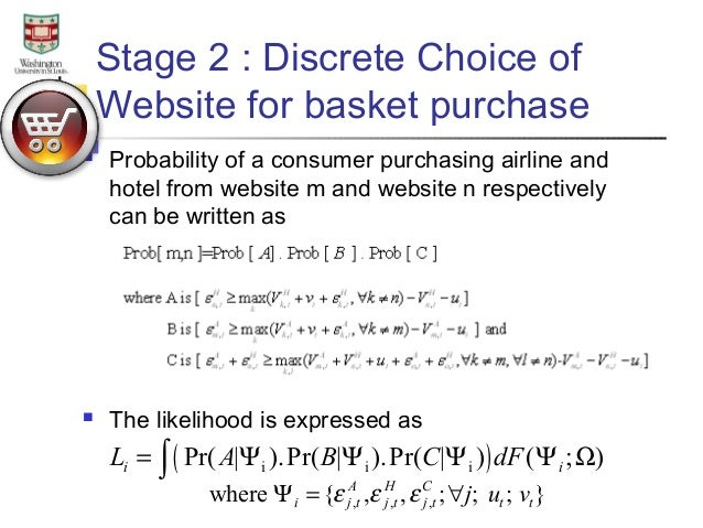 Essay   Multicategory purchase in travel SlideShare     purchases are on a travel portal