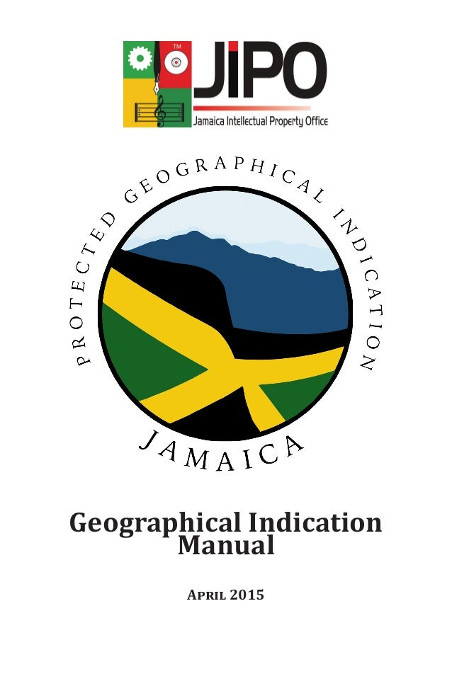 Geographical Indication Manual April 2015