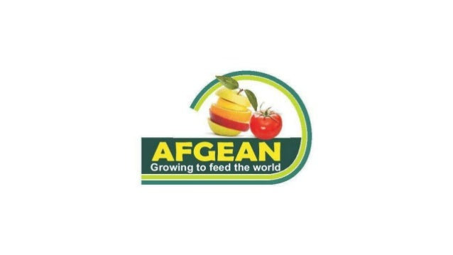 AFGEAN MISSION AFGEAN aims to make horticulture sustainable and an income generating sub-sector for the Nigerian farmer by...