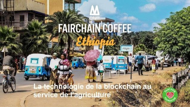 La technologie de la blockchain au service de l'agriculture