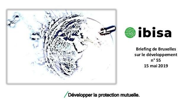 Développer la protection mutuelle. Briefing de Bruxelles sur le développement n° 55 15 mai 2019