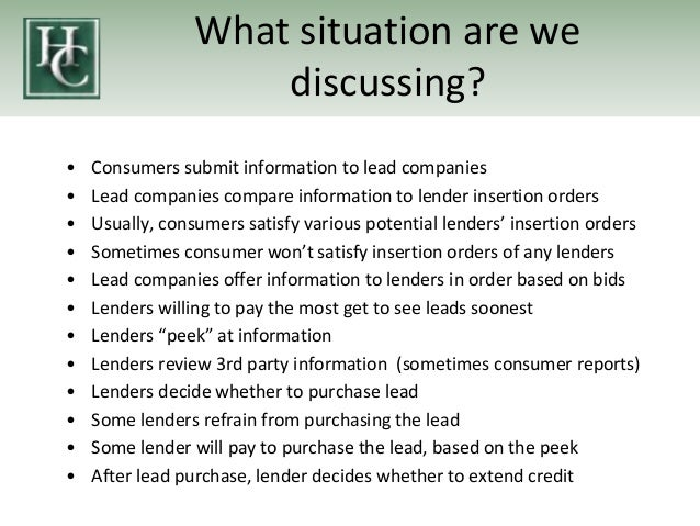Fair Lending Discussions, Answers, and Free Resources for ...